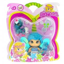 Pinypon 700008932 Hadas con alas y unicornio