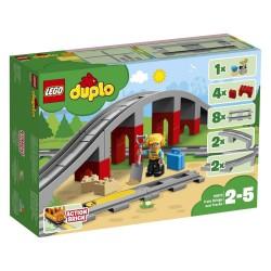 Lego 10872 Puente y vías ferroviarias
