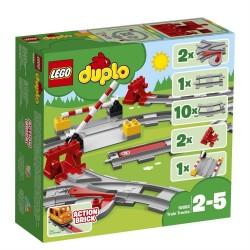 Lego 10882 Vías ferroviarias