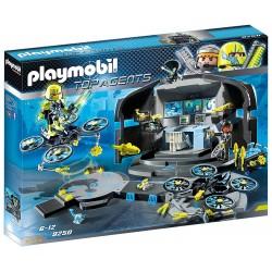 Playmobil 9250 Centro de Mando del Dr.Drone