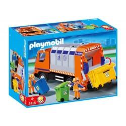 Playmobil 4418 Camion De Reciclaje