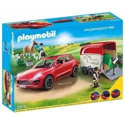 Playmobil 9376 Porsche Macan GTS con remolque