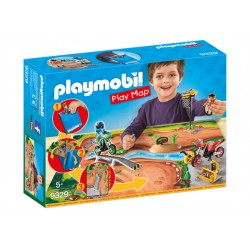 Playmobil Action 9329 Motocross Play Map