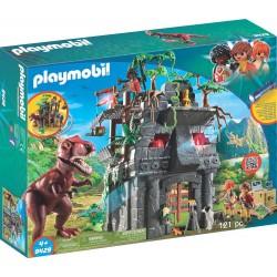 Playmobil 9429 Campamento Base con T-Rex