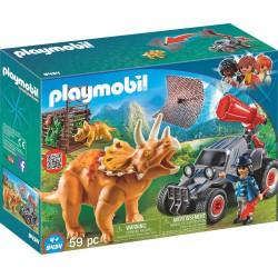 Playmobil 9434 Coche con Triceratops