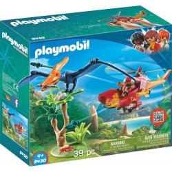 Playmobil 9430 Helicóptero con Pterosaurio