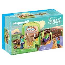 Playmobil 9479 Establo Pru y Chica Linda