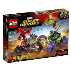 Lego 76078 Hulk vs. Hulk Rojo