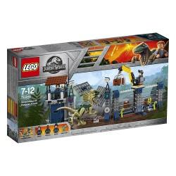 Lego 75931 Ataque del Dilofosaurio al puesto de vigilancia