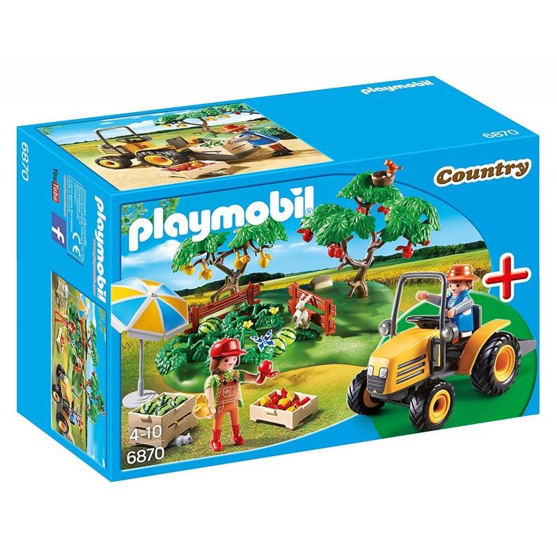 Playmobil 6870 Huerto con tractor