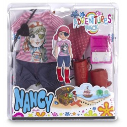 Nancy 700012723 Pack de Ropita Aventuras Pirata