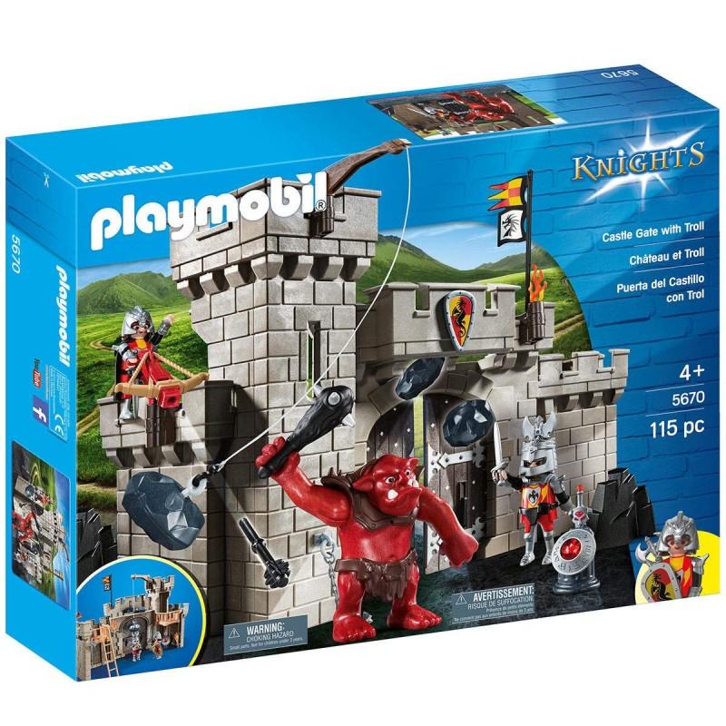 Playmobil 5670 Puerta del Castillo con Troll