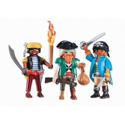 Playmobil 6434  Conjunto 3 Piratas