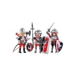 Playmobil 6381 - 3 Caballeros del Halcon