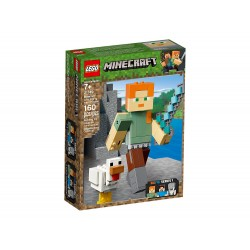 Lego 21149 BigFig Minecraft: Alex con Gallina