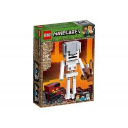 Lego 21149 BigFig Minecraft: Esqueleto con Cubo de Magma