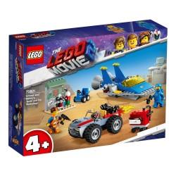 """Lego 70821 Taller """"Construye y Arregla"""" de Emmet y Benny"""