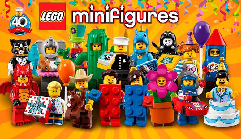 Minifiguras 71021 18ª edición: Fiesta